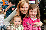 Family Fun Day: Attending the family fun day in the Square, Listowel on Sunday afternoon last were Amy, Kasai & Debbie O'Sullivan.