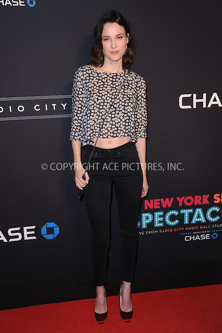 WWW.ACEPIXS.COM<br /> March 26, 2015 New York City<br /> <br /> Loan Charbanol attending the 2015 New York Spring Spectacular at Radio City Music Hall on March 26, 2015 in New York City.<br /> <br /> Please byline: Kristin Callahan/AcePictures<br /> <br /> ACEPIXS.COM<br /> <br /> Tel: (646) 769 0430<br /> e-mail: info@acepixs.com<br /> web: http://www.acepixs.com