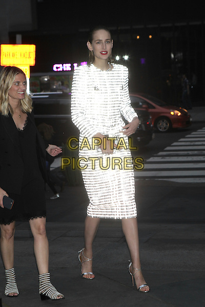 NEW YORK, NY - JUNE 2: Leelee Sobieski arrives to the Chanel Fine Jewelry Dinner at The New York Public Library on June 2, 2016 in New York City. <br /> CAP/MPI/DIE<br /> &copy;DIE/MPI/Capital Pictures