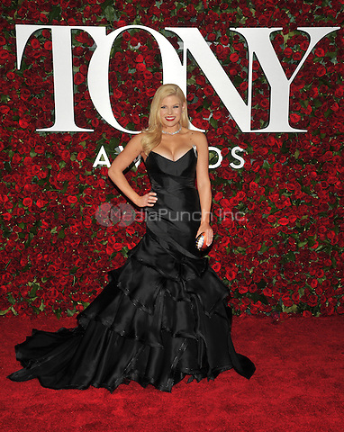 NEW YORK, NY - JUNE 12: Megan Hilty at the 70th Annual Tony Awards at The Beacon Theatre on June 12, 2016 in New York City. Credit: John Palmer/MediaPunch