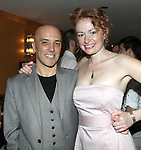 Scott C. Embler & Gretchen Hall.pictured at the Opening Night After Party for '7th Monarch' at Angus McIndoe Restaurant  in New York City on June 24, 2012.