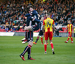 04.05.2018 Partick Thistle v Ross County: Billy McKay celebrates for Ross County