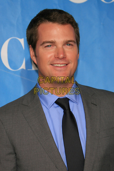 CHRIS O'DONNELL ('NCIS: Los Angeles').CBS Television Network's 2009-2010 Primetime Programming Announcements After-Party, held at Terminal 5, New York, NY, USA..May 20th, 2009.headshot portrait blue shirt black tie jacket grey gray .CAP/LNC.©TOM/LNC/Capital Pictures.