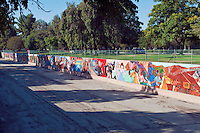 Great Wall Mural, Los Angeles, CA, Tujunga Wash, Sub Watershed, LA River, San Fernando Valley,