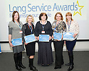 Staff from the Diabetes Clinic receive their Long Service Awards : Forth Valley Royal Hospital 26th Jan 2015