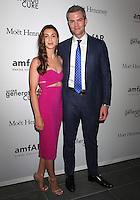 NEW YORK, NY - JUNE 21: Ryan Serhant and fiancee  Emilia Bechrakis attend amfAR generationCURE 5th Annual SOLSTICE event in New York, New York on June 21, 2016.  Photo Credit: Rainmaker Photo/MediaPunch