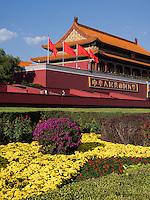 TianAnMen-Tor des himmlichen Friedens, Peking, China, Asien<br /> TianAnMen-Gate of heavenly peace, Beijing, China, Asia