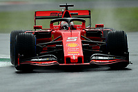 #05 Sebastian Vettel, Scuderia Ferrari. Italian GP, Monza 5-8 September 2019<br /> Monza 06/09/2019 GP Italia <br /> Formula 1 Championship 2019 <br /> Photo Federico Basile / Insidefoto