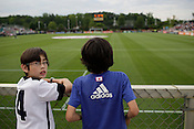 The USA Women's Nations team defeated Japan 2-1 at WakeMed Soccer Park in Cary, N.C., Wednesday, May 18, 2011.