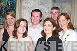 25. PICTURES 5762-5764..PLAY: At John B. Keanes play Big Maggie in St. Johns Theatre, Listowel, on Sunday evening were, from left, Anna Nowekowska, Denise Eigenmann, Shane Healy, Joan Cahill, John Bennett and Maura Keane, Listowel...