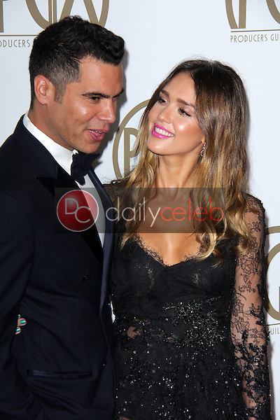 Cash Warren, Jessica Alba<br />
