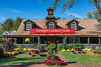 Yankee Candle Village, Deerfield, Massachusetts, USA.