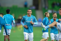 Melbourne, 23 April 2017 - TIMOTHY CAHILL (17) of Melbourne City warms up prior to the Elimination Final 2 of the A-League between Melbourne City and Perth Glory at AAMI Park, Melbourne, Australia. Perth won 2-0. Photo Sydney Low/sydlow.com