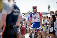 Thibaut Pinot (FRA/Groupama-FDJ) at the race start in Brussels<br /> <br /> Stage 1: Brussels to Brussels (BEL/192km) 106th Tour de France 2019 (2.UWT)<br /> <br /> ©kramon