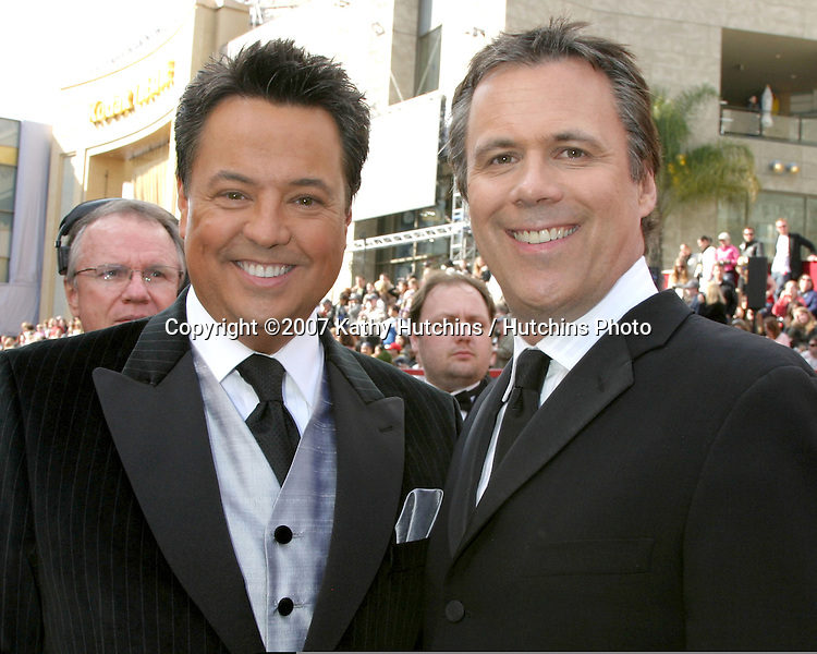 George Pennachio & Robert Roper.79th Annual Academy Awards.Kodak Theater .Hollywood & Highland.Hollywood, CA.February 25, 2007.©2007 Kathy Hutchins / Hutchins Photo....