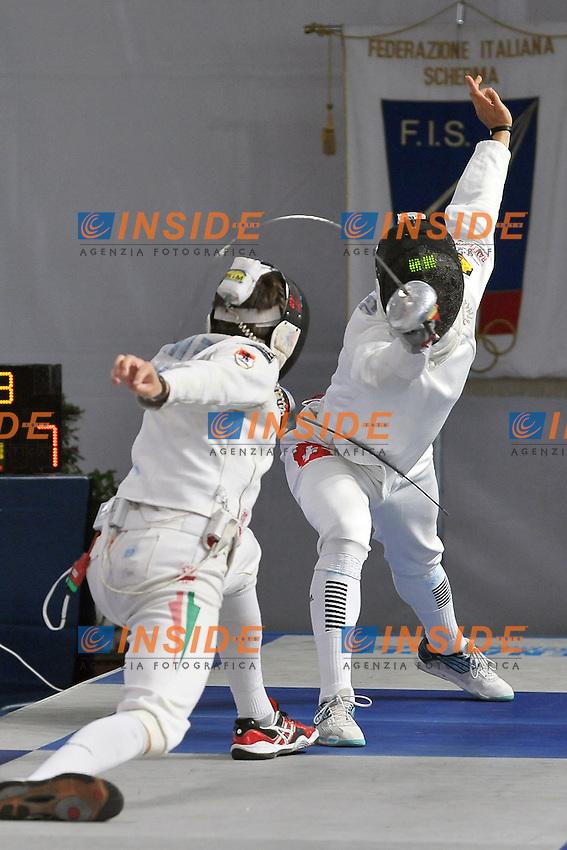 IMRE Geza (HON) vs HEINZER Max (SUI) 20-06-2012 .European Fencing Championships 2012.Campionati Europei Scherma.Foto Giovanni Minozzi / Insidefoto