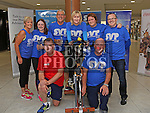 Sharon Mathews, Leanne saurian, Enda Marry, Colm Marry, Eamonn Kitt, Cllr Imelda Munster, Cllr Joanna Byrne and Cllr Kenneth Flood at the Spinathon in aid of St Vincent de Paul<br /> <br /> Photo - Jenny Matthews