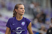 Orlando, FL - Saturday July 01, 2017: Dani Weatherholt during a regular season National Women's Soccer League (NWSL) match between the Orlando Pride and the Chicago Red Stars at Orlando City Stadium.