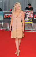 Mollie King at the Empire Live &quot;Swiss Army Man&quot; and &quot;Imperium&quot; double bill film premieres, The O2, Peninsula Square, London, England, UK, on Friday 23 September 2016.<br /> CAP/CAN<br /> &copy;CAN/Capital Pictures /MediaPunch ***NORTH AND SOUTH AMERICAS ONLY***