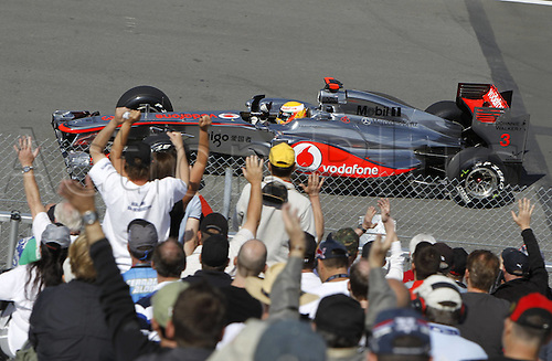 10 06 2011  FIA Formula One World Championship 2011 Grand Prix of Canada 03 Lewis Hamilton GBR Vodafone McLaren Mercedes