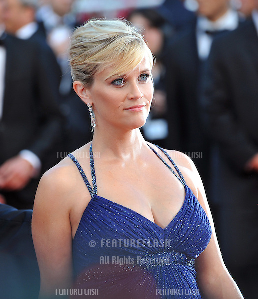 "Reese Witherspoon at the gala screening of her new movie ""Mud"" in competition at the 65th Festival de Cannes..May 26, 2012  Cannes, France.Picture: Paul Smith / Featureflash"
