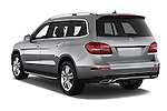 Car pictures of rear three quarter view of 2018 Mercedes Benz GLS-Class GLS450 5 Door SUV Angular Rear