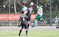 Kopfball Sören Storz (St. Stephan) - 31.03.2019: SV St Stephan Griesheim vs. SV 07 Geinsheim, Kreisoberliga Darmstadt/Gross-Gerau
