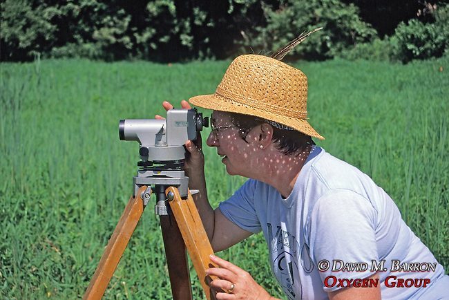 Surveying Archeological Site