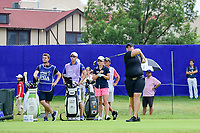 Caroline Hedwall (SWE) watches her tee shot on 10 during Friday's round 2 of the 2017 KPMG Women's PGA Championship, at Olympia Fields Country Club, Olympia Fields, Illinois. 6/30/2017.<br /> Picture: Golffile | Ken Murray<br /> <br /> <br /> All photo usage must carry mandatory copyright credit (&copy; Golffile | Ken Murray)