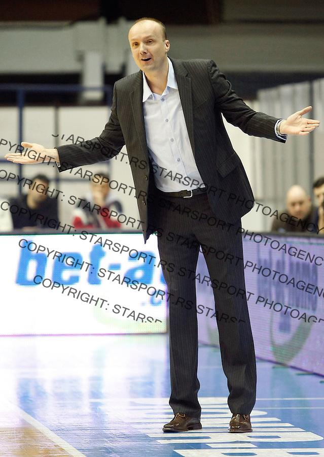 Kosarka, NLB League, sezona 2009/2010.Crvena Zvezda Vs. Olimpija (Ljubljana).Head coach Jurij Zdovc.Belgrade, 20.01.2010..foto: Srdjan Stevanovic/Starsportphoto ©