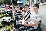 DJS Brian Cunningham, Christopher Garvey and Adam Sheridan who did the music at the Fundraising BBQ in Termonfeckin National School...Photo NEWSFILE/Jenny Matthews.(Photo credit should read Jenny Matthews/NEWSFILE)....This Picture has been sent you under the condtions enclosed by:.Newsfile Ltd..The Studio,.Millmount Abbey,.Drogheda,.Co Meath..Ireland..Tel: +353(0)41-9871240.Fax: +353(0)41-9871260.GSM: +353(0)86-2500958.email: pictures@newsfile.ie.www.newsfile.ie.FTP: 193.120.102.198.