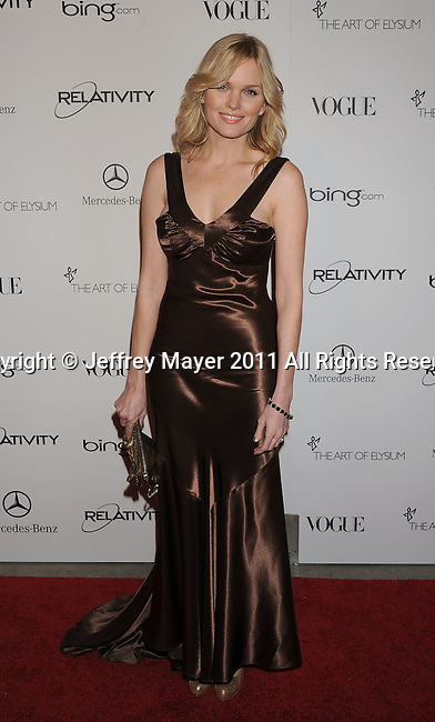 "LOS ANGELES, CA - January 15: Sunny Mabrey arrives at Art Of Elysium's 4th Annual ""Heaven"" Charity Gala at California Science Center's Wallis Annenberg Building on January 15, 2011 in Los Angeles, California."
