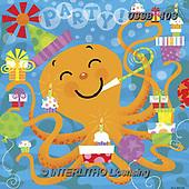 Sarah, CHILDREN BOOKS, BIRTHDAY, GEBURTSTAG, CUMPLEAÑOS, paintings+++++BDOctopus-11-A,USSB403,#BI#, EVERYDAY