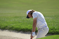 Tommy Fleetwood (ENG) on the 14th fairway during the final round of the DP World Tour Championship, Jumeirah Golf Estates, Dubai, United Arab Emirates. 18/11/2018<br /> Picture: Golffile | Fran Caffrey<br /> <br /> <br /> All photo usage must carry mandatory copyright credit (© Golffile | Fran Caffrey)