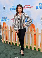 Alicia Machado at the world premiere for &quot;Peter Rabbit&quot; at The Grove, Los Angeles, USA 03 Feb. 2018<br /> Picture: Paul Smith/Featureflash/SilverHub 0208 004 5359 sales@silverhubmedia.com