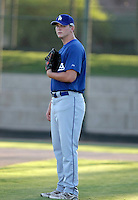Garrett Gould - AZL Dodgers (2009 Arizona League)..Photo by:  Bill Mitchell/Four Seam Images..