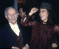 Lee Strasberg Anna Strasberg 1977<br /> Credit: Adam Scull/Photolink/MediaPunch