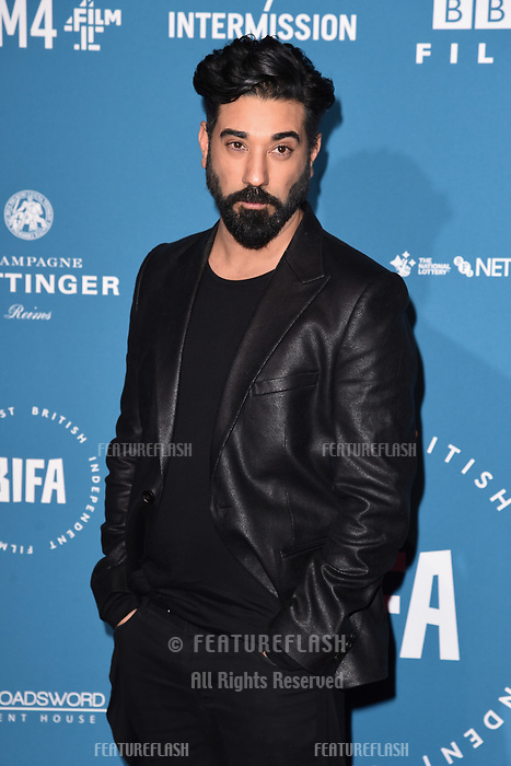 LONDON, UK. December 02, 2018: Ray Panthaki at the British Independent Film Awards 2018 at Old Billingsgate, London.<br /> Picture: Steve Vas/Featureflash