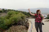 Tabarka, Tunisia, 18 Settembre 2018<br /> Rania Mecher giovane impenditrice locale che ha fondato Dar el Ain, un centro di turismo ecologico