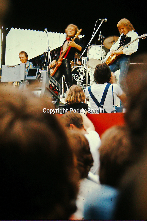 Humble Pie at THE WHO SUMMER OF 74 Charlton Athletic FC , The Who, Humble Pie, Lou Reed, Bad Company, Lindisfarne, Maggie Bell, Montrose.<br />