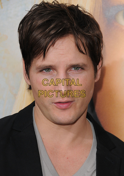 "PETER FACINELLI.L.A. Premiere of ""Letters to Juliet"" held at The Grauman's Chinese Theatre in Hollywood, California, USA..May 11th, 2010.headshot portrait black grey gray .CAP/RKE/DVS.©DVS/RockinExposures/Capital Pictures."