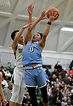 1-25-19, Skyline High School vs Huron High School boy's varsity basketball
