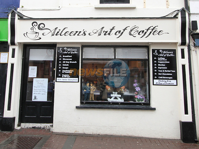 Aileen's Art of Coffee...(Photo credit should read Jenny Matthews www.newsfile.ie)....This Picture has been sent you under the conditions enclosed by:.Newsfile Ltd..The Studio,.Millmount Abbey,.Drogheda,.Co Meath..Ireland..Tel: +353(0)41-9871240.Fax: +353(0)41-9871260.GSM: +353(0)86-2500958.email: pictures@newsfile.ie.www.newsfile.ie.