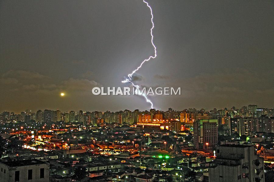 Tempestade sobre São Paulo. 2007. Foto de Flávio Bacellar.