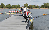 Brandenburg. GERMANY.<br /> 2016 European Rowing Championships at the Regattastrecke Beetzsee<br /> <br /> Wednesday  04/05/2016<br /> <br /> [Mandatory Credit; Peter SPURRIER/Intersport-images]