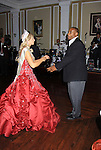 Sports Celebrity Virginia Tech, NFL, WFL wide receiver Shawn Scales at the 33rd Annual Mountain State Apple Harvest Festival (MSAHF) 2012  on October 20, 2012 at the Queen's Grand Ball at the Historic Shenandoah Hotel in Martinsburg, West Virginia dances with Alivia Ayers (Queen Pomona XXXIII) (Photo by Sue Coflin/Max Photos)