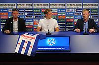 VOETBAL: HEERENVEEN: 14-06-2017, Abe Lenstra Stadion, Met de 26-jarige de Deense Daniel Høegh, die overkomt komt van FC Basel, heeft SC Heerenveen een defensieve versterking binnengehaald. Høegh tekent voor twee jaar, met een optie voor nog een jaar, ©foto Martin de Jong