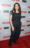 NEW YORK, NEW YORK - JANUARY 09: Annabella Sciorra    attends the 'The Sopranos' 20th Anniversary Panel Discussion at SVA Theater on January 09, 2019 in New York City. Credit: John Palmer/MediaPunch