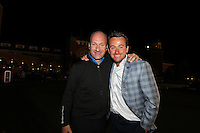 BBC NI presenter Stephen Watson and Graeme McDowell at the end of Sunday's singles matches at the Ryder Cup 2012, Medinah Country Club,Medinah, Illinois,USA 30/09/2012.Picture: Fran Caffrey/www.golffile.ie.