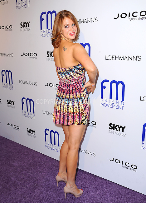 WWW.ACEPIXS.COM<br /> <br /> July 1 2013, LA<br /> <br /> Maitland Ward at the Friend Movement Campaign benefit concert at the El Rey Theatre on July 1, 2013 in Los Angeles, California<br /> <br /> By Line: Peter West/ACE Pictures<br /> <br /> <br /> ACE Pictures, Inc.<br /> tel: 646 769 0430<br /> Email: info@acepixs.com<br /> www.acepixs.com
